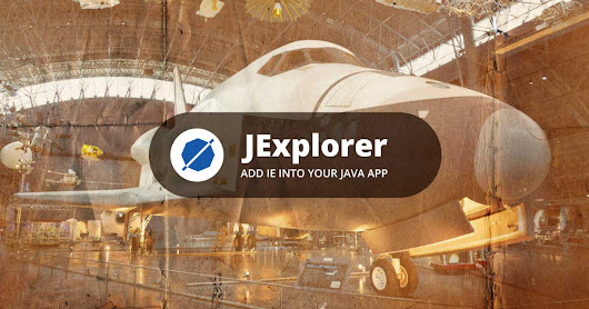 JExplorer — Add IE into your Java app