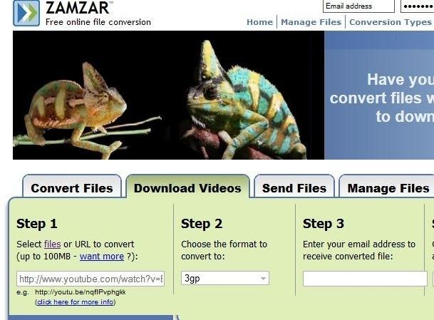 Zamzar Youtube Downloader