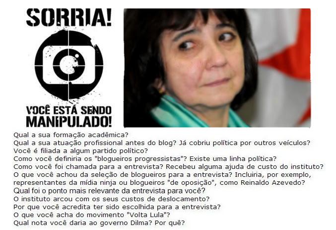 Conceição Lemes Detona a Globo