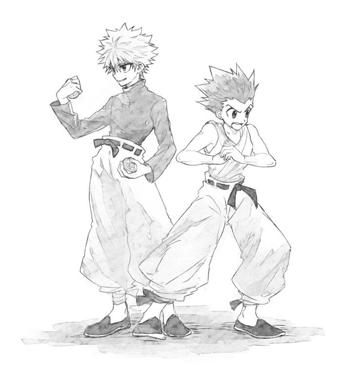 31 Hunter X Hunter Coloring Pages Zsksydny Coloring Pages