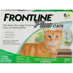 Frontline Plus Flea & Tick Control Doses for Cats - 6 count