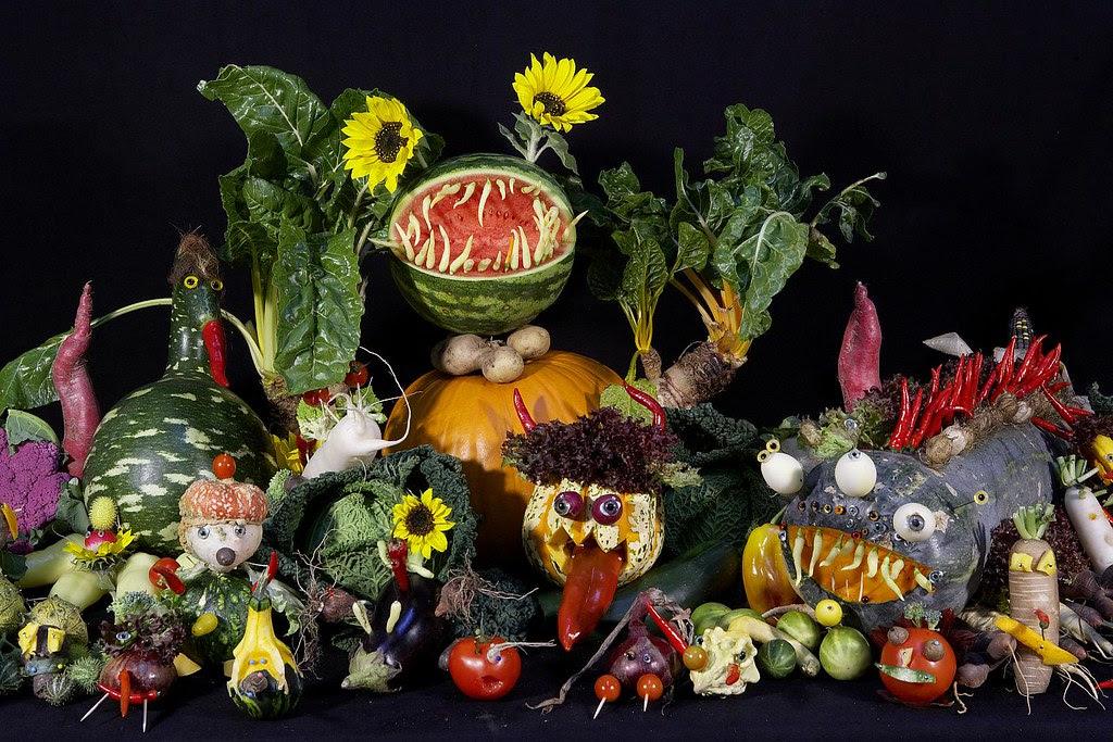 Monster Vegetables
