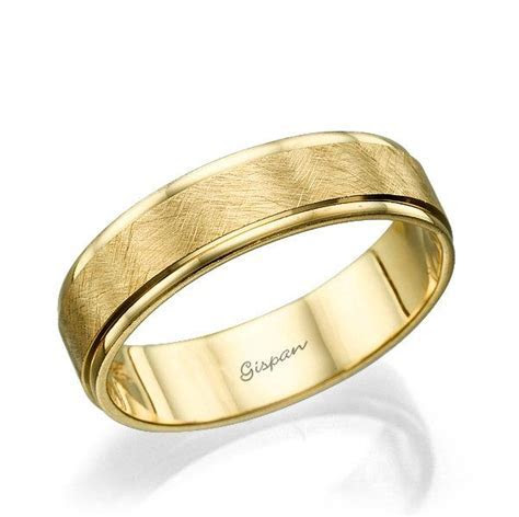 Wedding Band, Wedding Ring, Mens Wedding Band, Yellow Gold