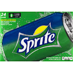 Sprite Lemon-Lime Soda - 24 pack, 12 fl oz cans