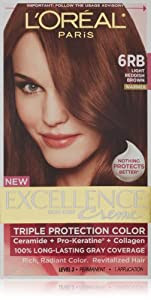 Amazon.com : Excellence Light Reddish Brown : Chemical Hair Dyes : Beauty
