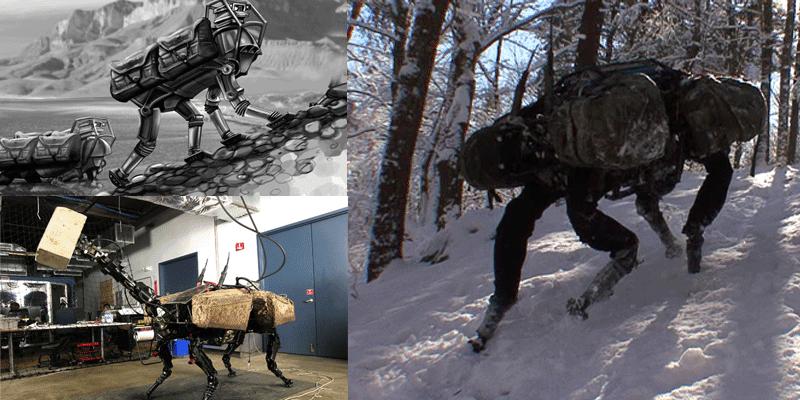 Resultado de imagem para O robot Big Dog, da Boston Dynamics