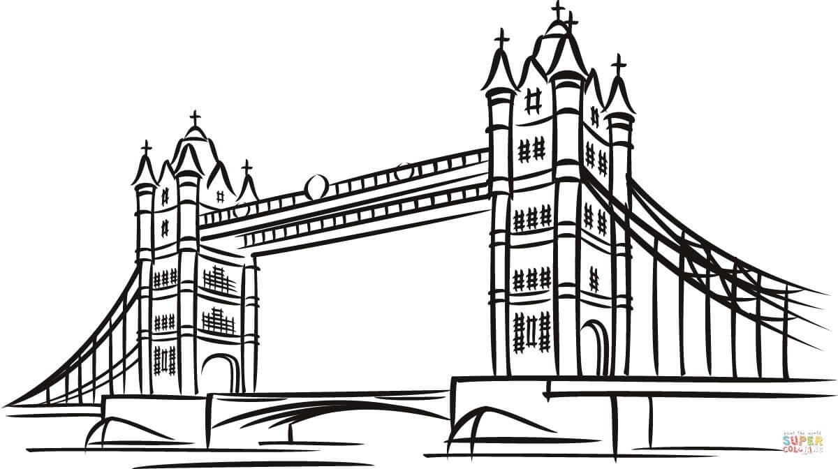 Londres coloriages pour visualiser la version imprimable ou colorier en ligne patible avec les tablettes iPad et Android