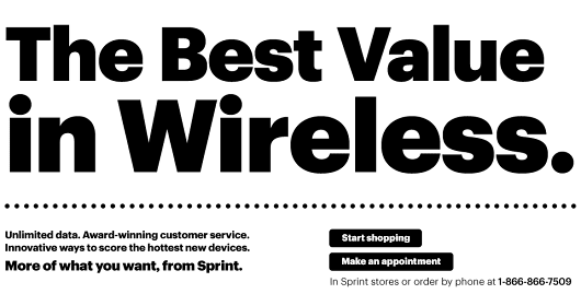 The best value in wireless