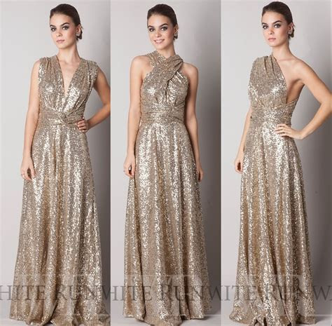 Online Get Cheap Gold Bridesmaid Dresses  Aliexpress.com
