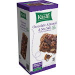 Kashi Chewy Granola Bars, Chocolate Almond & Sea Salt with Chia - 35 count