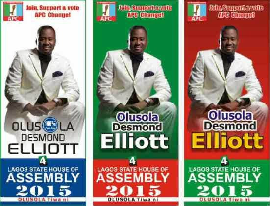 Desmond Elliot to Run for Lagos State House of Assembly 2015