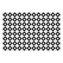 White and Black Diamond Pattern