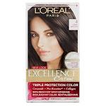L'Oreal Paris Excellence Creme Triple Protection Hair Color, Dark Brown 4