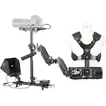 Movo X100 Ultimate Steadycam System Bundle - Includes Handheld Video Stabilizer, Vest