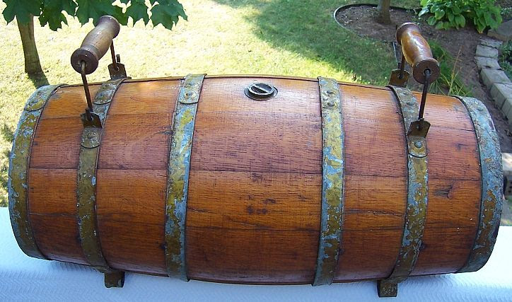 Authentic Civil War Field Ambulance Wwi Wwii Lifeboat Water Casks