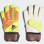 Adidas Predator Fingersave Replique Goalkeeper Gloves Yellow/Red 10