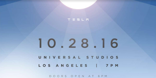 Tesla's big solar roof unveiling will happen on Friday