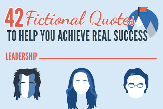 42 Awesome Success Quotes from Fictional Characters - BrandonGaille.com