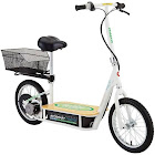 Razor EcoSmart Metro Electric Economical Green Scooter with Seat and