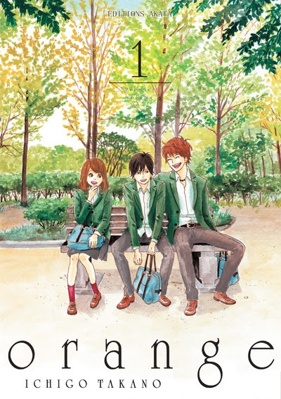 Couverture Orange, tome 1