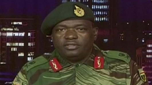 Zimbabwe's military seizes state TV