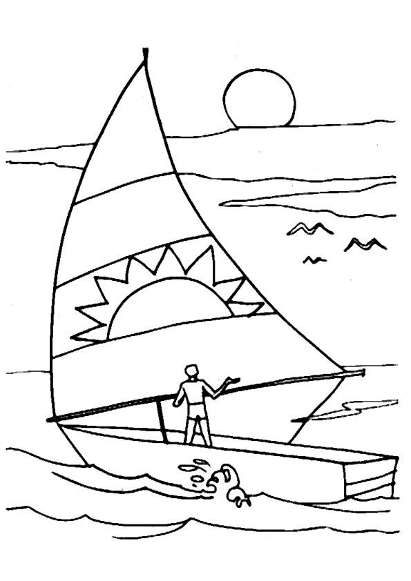 Barche Disegni Per Bambini Da Colorare