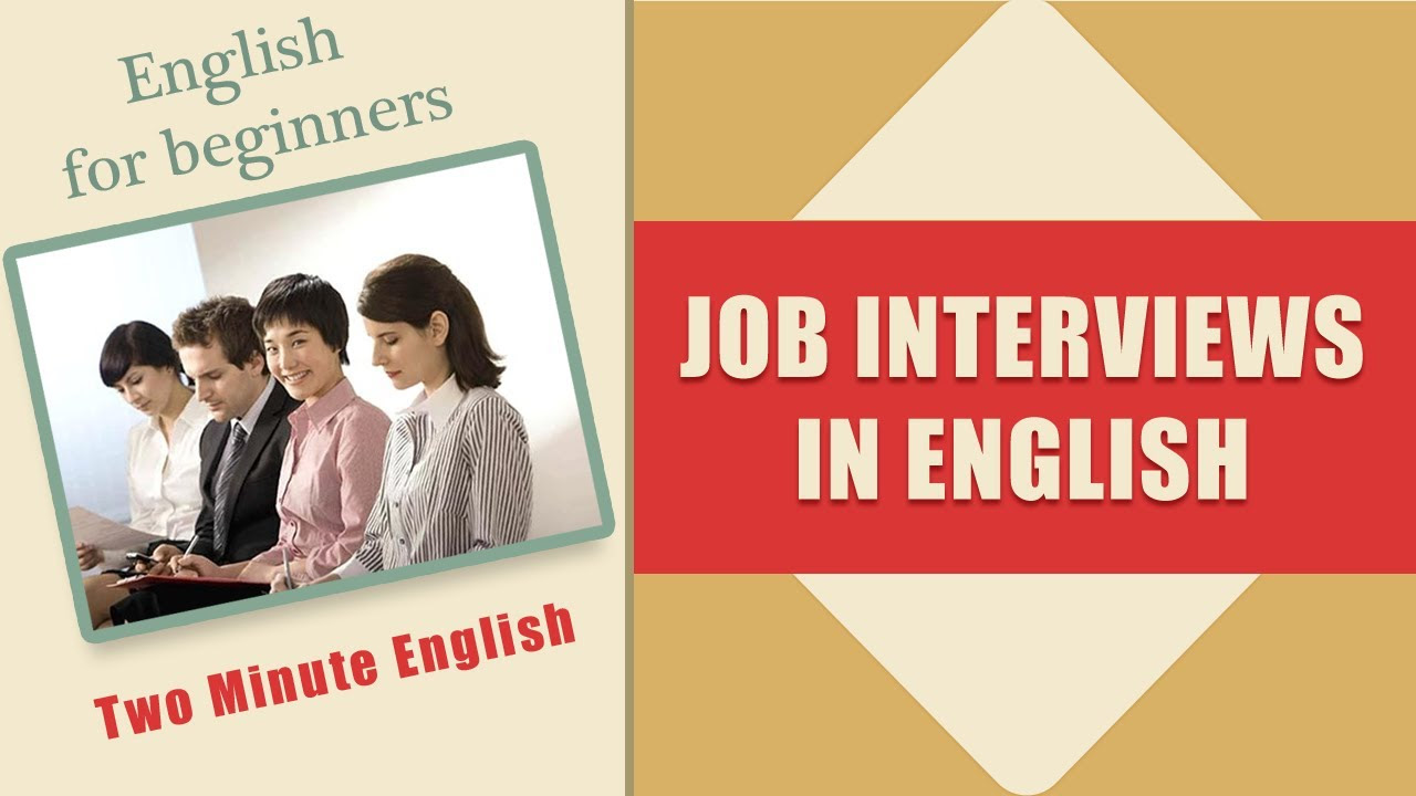 Job Interviews in English Language - English Phrases for ...