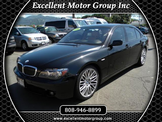 Used 2006 BMW 7-Series 750Li for Sale in Honolulu HI 96817 Excellent Motor Group Inc