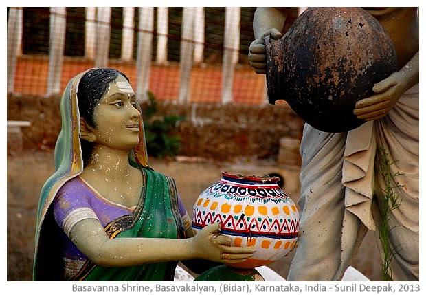Basavanna shrine, Basavkalyan, Karnataka - images by Sunil Deepak, 2013