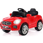 Gymax 6V Kids Ride On Car RC Remote Control Battery Powered w/ LED Lights MP3 Red