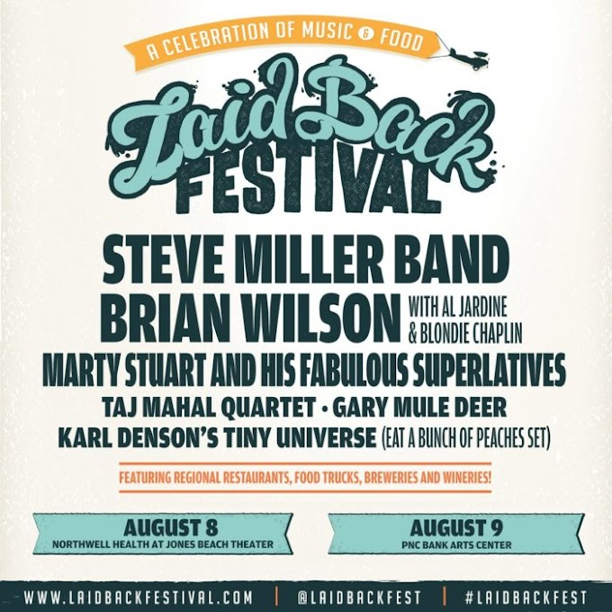 Brian Wilson, Steve Miller Band, Karl Denson and More Will Perform at Laid Back Festival