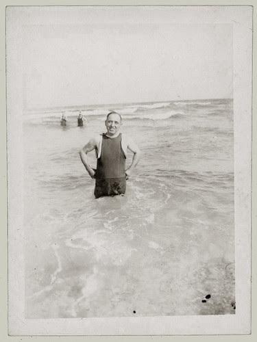 Man in the surf