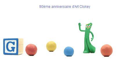 Logo Google anniversaire