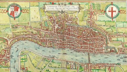 9 maps that reveal London's secret history from Shakespeare till today