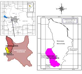 Independencia: población y municipio cochabambino (Bolivia)