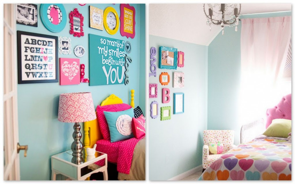 Wall decor ideas for kid's rooms!