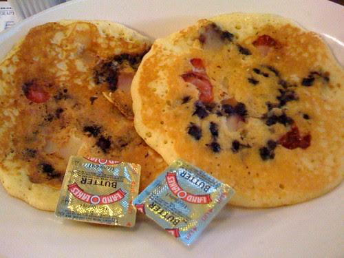 Doyle's Fruit Pancakes
