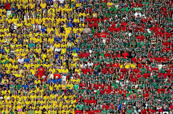 Best of the World Cup.: Brazil v Mexico