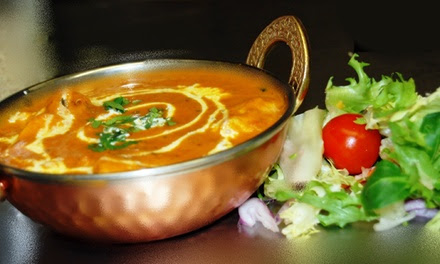 Three-Course Indian Meal For Two or Four from £24.95 at Golden Ambal (Up to 52% Off)