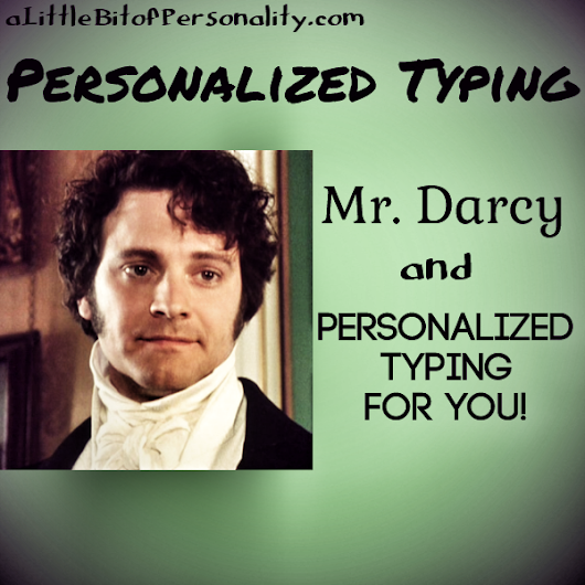 Personalized Typing: Mr. Darcy and the New Email System | A Little Bit of Personality