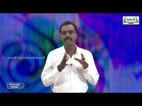 12th Geography மாதிரி வினாத்தாள் பகுதி 3 Kalvi TV
