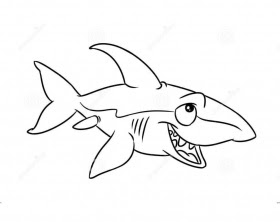 Big Angry Sharks Coloring Pages For Kids #eTK : Printable ...