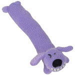 "Multipet International 50021 Loofa Dog Toy, 12"", Assorted Colors, 3-piece"