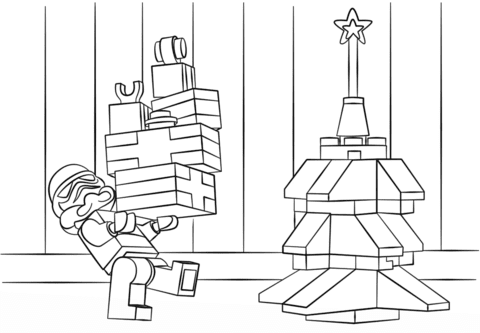 99 Top Ninjago Christmas Coloring Pages For Free