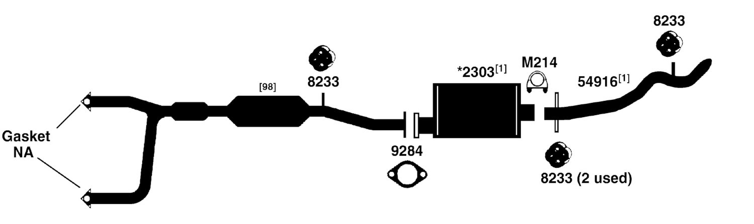 28 Chevy S10 Exhaust System Diagram