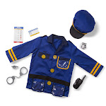 Police Officer Role-Play Costume Set