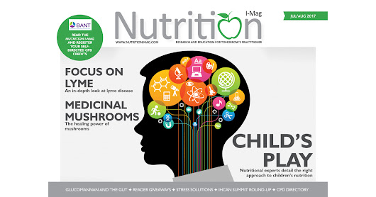 Cover - Nutrition I-Mag July/August 2017