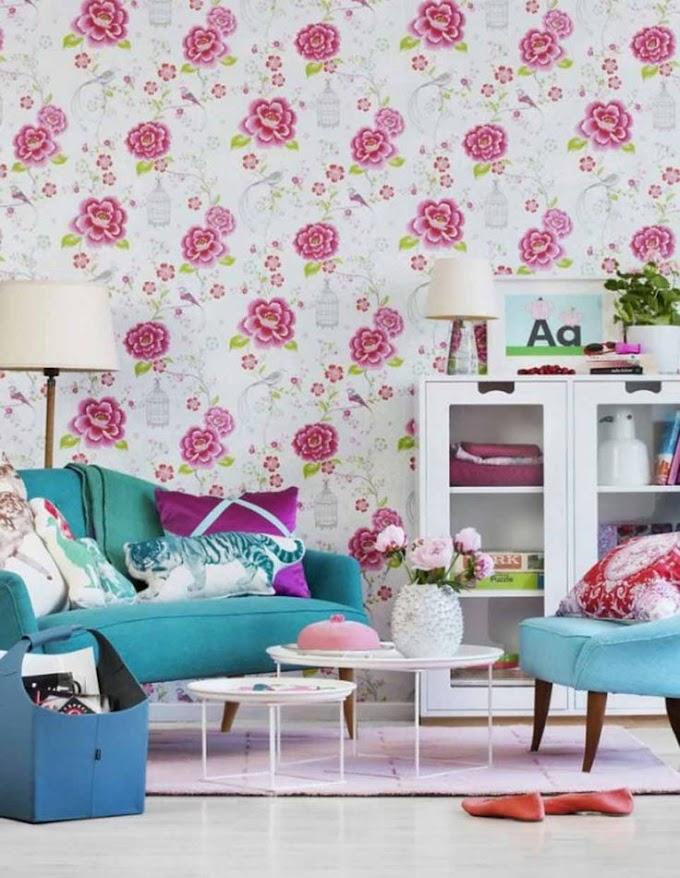 Wallpaper Dinding Ruang Tamu 3d | Ide Rumah Minimalis