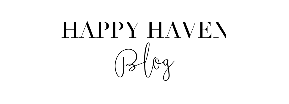 Happy Haven Blog