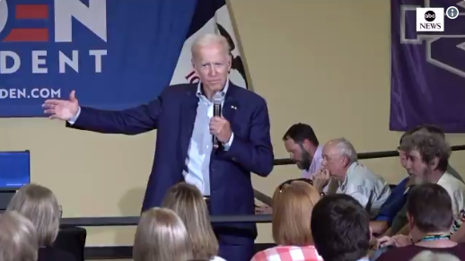 Image result for BIDEN: 'I think I'm either low IQ or slow — I don't know'